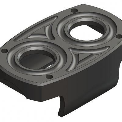 KAC021-1  Support moteur