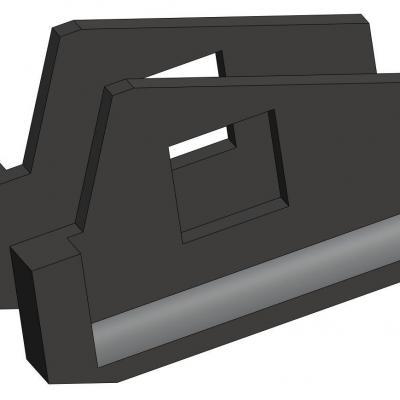 KAC029-1  Pièces support de moteur