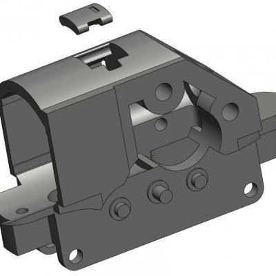 KAC044-1 Pièce support moteur pour BB LIMA