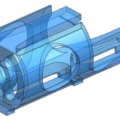 KAC060-1  Pièce support de moteur