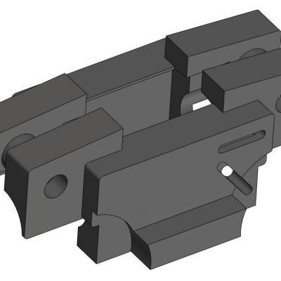 KAC071-23 Support moteur