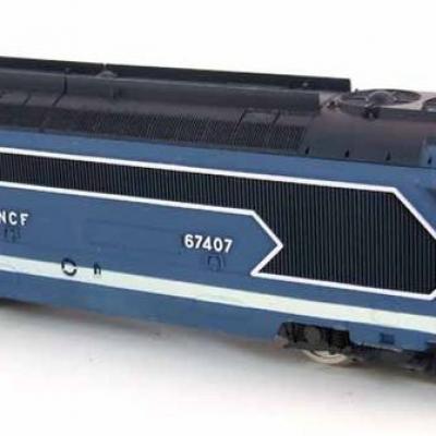 KAC003 - Kit de remotorisation pour BB67407 JOUEF