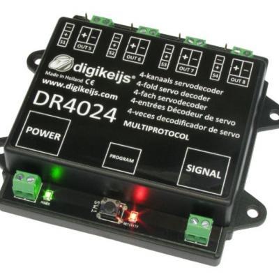 DR4024 - Décodeur pour 4 servos