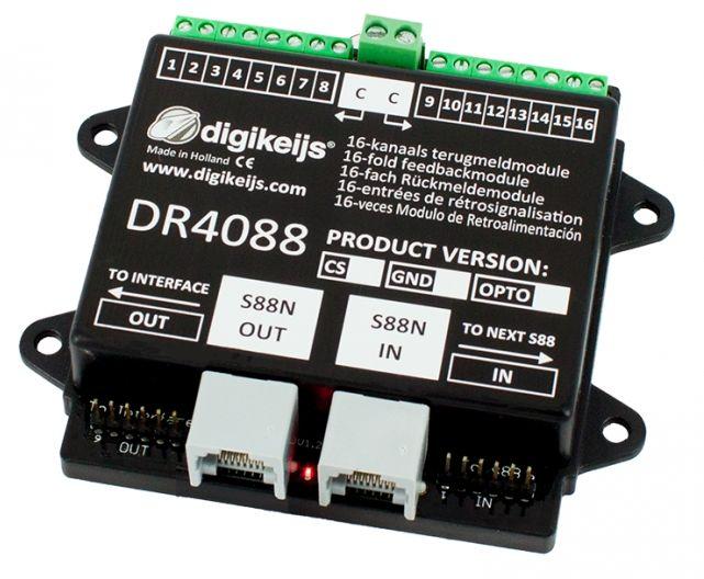 Dr4088cs retrosignalisation 16 entrees s88n inout
