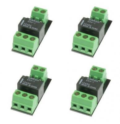 DR4102 - 4 interfaces pour aiguillages avec pointe de cœur alimentée