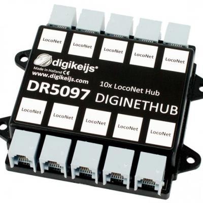 DR5097 - Hub LocoNet