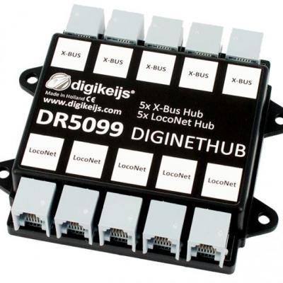 DR5099 - Hub LocoNet et X-Bus
