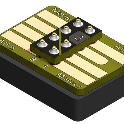 KCI007 Interface avec bouchon NMRA652