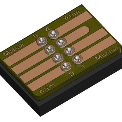 KCI017 - Interface NMRA652 8 broches 13x19mm