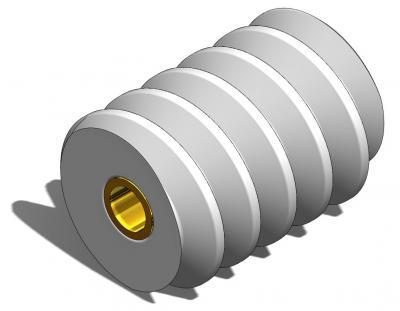 KAM020 - Vis sans fin Module 0,5 pour axe Ø1,5mm