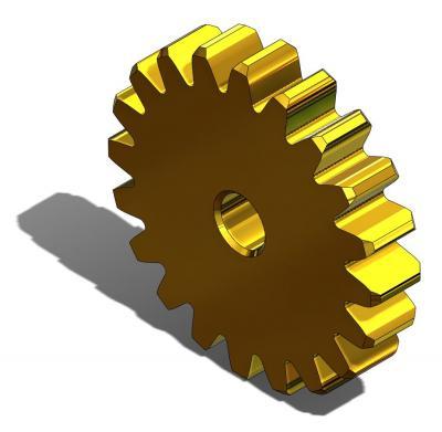 KAM033 - Pignon 20 dents Module 0,5