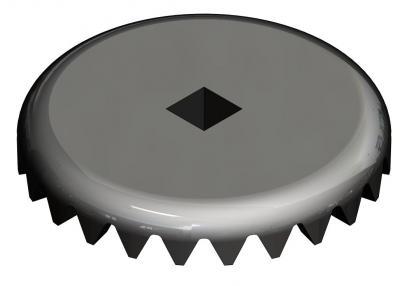 KAM035 - Couronne dentée 20 dents pour axe vertical JOUEF