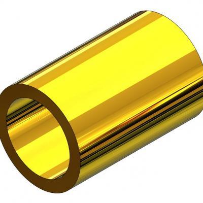 KAM115C - Tube d'adatation court pour axe Ø1,5 / pignon 2mm