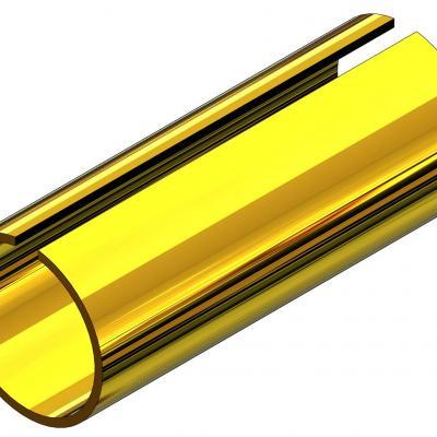 KAM118C - Tube d'adatation court pour axe Ø1,8 / pignon 2mm